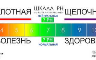 Как проверить ph организма в домашних условиях – значение рн крови