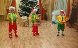Сценарий новогоднего утренника для детей старшей группы