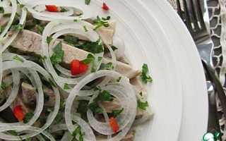 Салат по деревенски рецепт