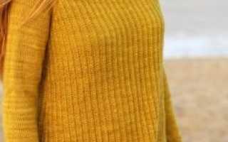 Как вязать рукав реглан спицами снизу, вязание регланных линий