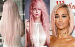 Теплые цвета красок для волос