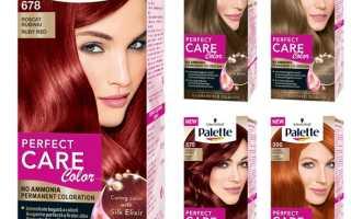 Сколько держать краску на волосах палет?