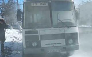 Пожар во Владимире: возгорание автобуса сегодня