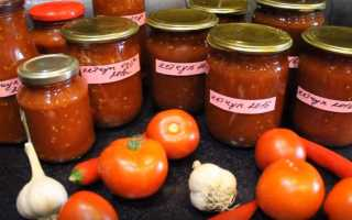 Рецепт кетчупа на зиму из помидор