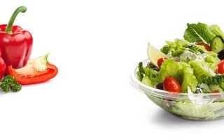Салат листовой калорийность на 100 грамм: сколько калорий в овощах на пару?