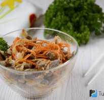 Хе из курицы по-корейски: правильные рецепты, в том числе из куриных желудков