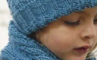 Вязание шапки для девочки спицами с описанием: завязочки для шапочки