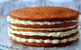 Торт пышный: самый простой корж