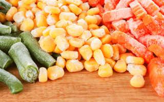 Замороженные овощи польза или вред: теряются ли полезные свойства при заморозке?