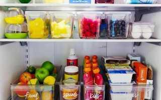 Порядок в холодильнике фото