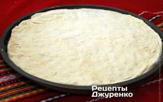 Что нужно для теста на пиццу?