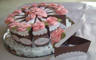 Как сделать тортик из бумаги своими руками, торт с пожеланиями на свадьбу примеры пожеланий