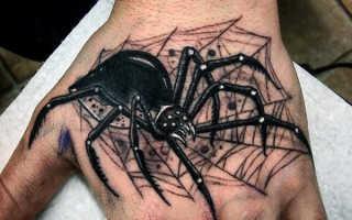 Паук на руке татуировка значение тюремные, тату паутина на плече что означает