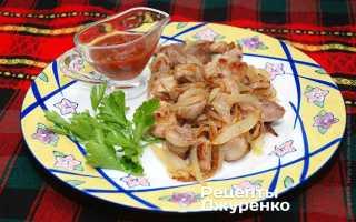 Как пожарить мясо с луком на сковороде, свинина жареная с уксусом
