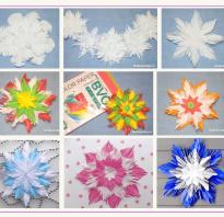 Как сделать снежинку из салфетки своими руками?