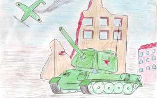 Какой рисунок нарисовать на 23 февраля легкий: открытка солдату своими руками от детей
