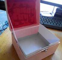 Шкатулка для украшений с отделениями своими руками: как сделать коробку для кольца?