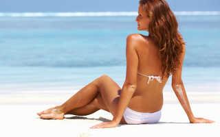 Загорать на пляже, пребывание на солнце