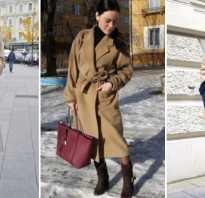 Какой шарф подойдет к бежевому пальто?
