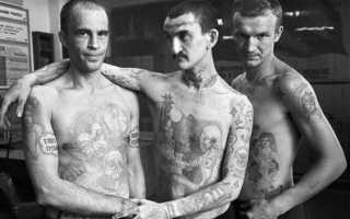Значение татуировок в криминальном мире с фото – паук вор в законе