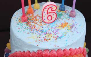 Торт мальчику на 6 лет фото – цифра 6 из мастики