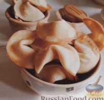 Печенье с предсказанием рецепт с фото