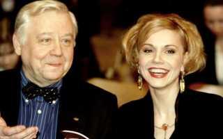 Сколько лет Олегу табакову и его жене — зудина любовь