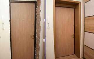 Как отделать входную дверь изнутри своими руками?