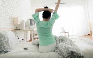 Зарядка для ленивых в постели – упражнения лежа на кровати для похудения