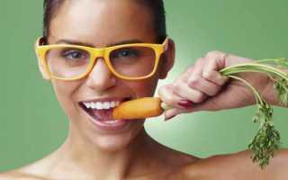 Морковь для зрения правда или миф?