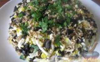 Салат дамский каприз рецепт с курицей