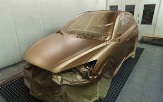 Покраска авто резиновой краской