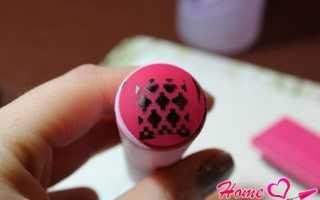 Почему не получается стемпинг на ногтях, nail art tool как пользоваться