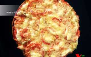 Пицца из готовых коржей в духовке рецепт