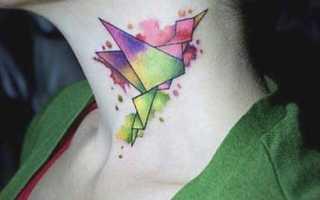 Тату птица значение для девушек, птички татуировка