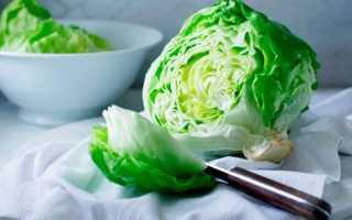 Салат с салатом айсберг рецепт с фото
