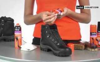Как защитить обувь от воды — сапоги защищать