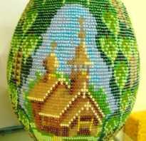 Бисероплетение яйцо пасхальное схемы для начинающих, из бисера пасха
