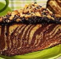 Торт Зебра: рецепты в домашних условиях + фото и видео