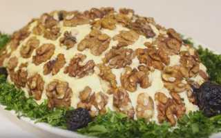 Салат черепашка рецепт с фото