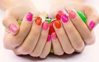 Последовательность нанесения гель лака на ногти
