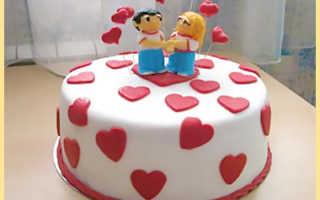 Торт на годовщину свадьбы своими руками – свадебные тортики из крема