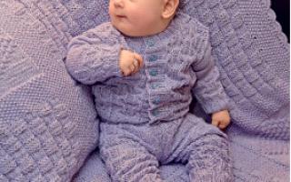Крючком для новорожденных схемы и описание