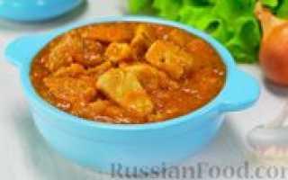 Рецепт мяса с подливкой на сковороде – тушеная свинина с чесноком