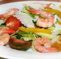 Рецепт салата из морепродуктов морской коктейль
