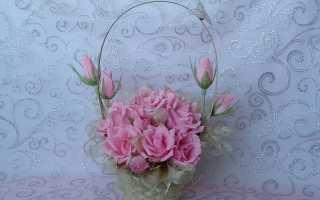 Розы своими руками из гофрированной бумаги, как сделать бутончик?