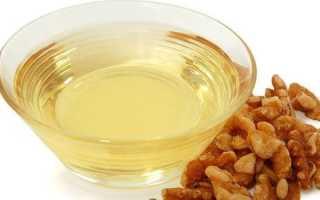 Масло грецкого ореха полезные свойства применение