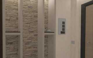 Декор в прихожей, панно в коридоре фото