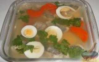Заливное из рыбы рецепты с фото