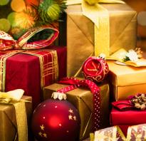 Что можно подарить ребенку на новый год?